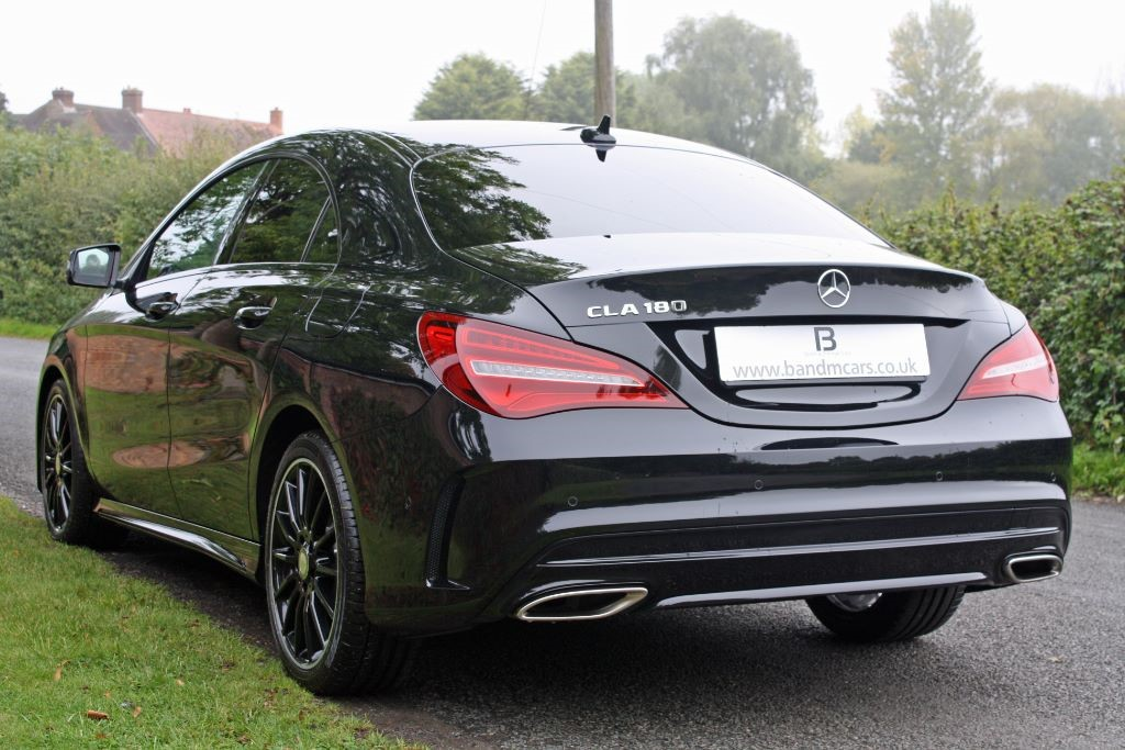 mercedes cla cla 180 amg line for sale stratford upon avon warwickshire b m sports. Black Bedroom Furniture Sets. Home Design Ideas