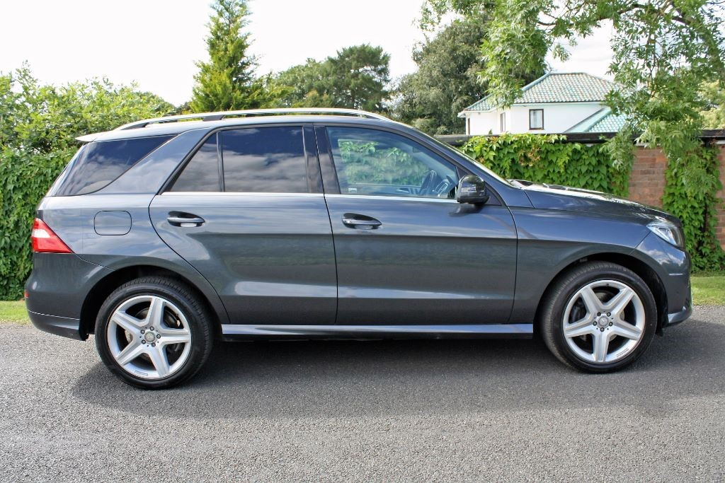Mercedes m class ml350 bluetec amg line for sale for Mercedes benz ml350 bluetec price