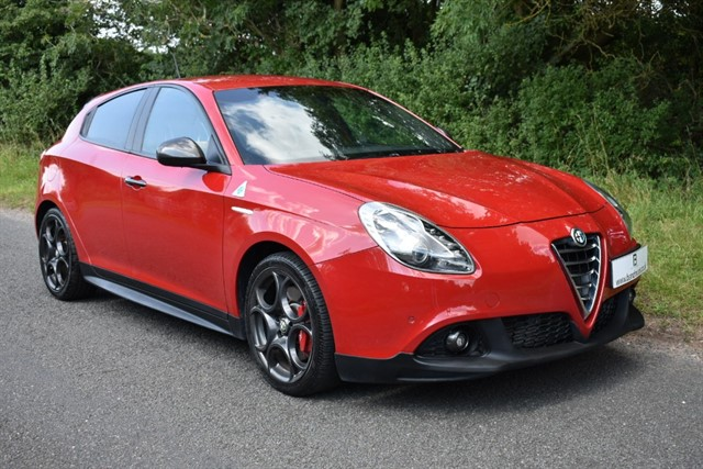 used Alfa Romeo Giulietta TBI QUADRIFOGLIO VERDE TCT LAUNCH EDTN in stratford-upon-avon