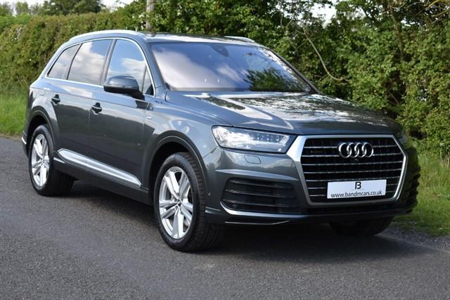 used Audi Q7 TDI QUATTRO S LINE in stratford-upon-avon