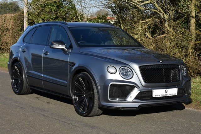 used Bentley Bentayga V8 in stratford-upon-avon