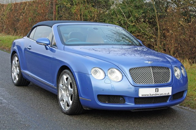 used Bentley Continental GTC MDS in stratford-upon-avon