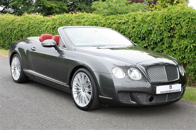 used Bentley Continental GTC SPEED in stratford-upon-avon