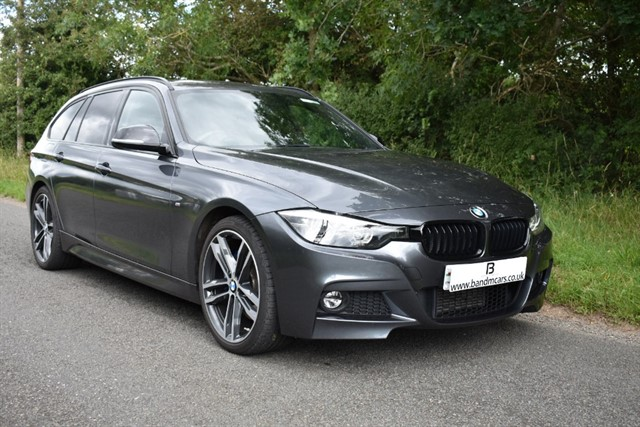 used BMW 320d M SPORT SHADOW EDITION TOURING in stratford-upon-avon