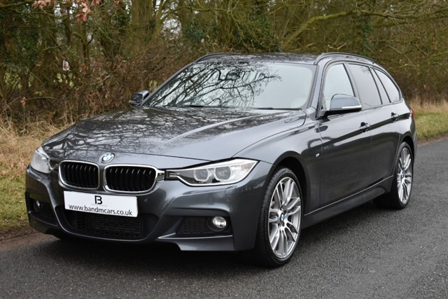 used BMW 335d XDRIVE M SPORT TOURING in stratford-upon-avon