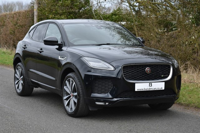 used Jaguar E-Pace R-DYNAMIC HSE in stratford-upon-avon