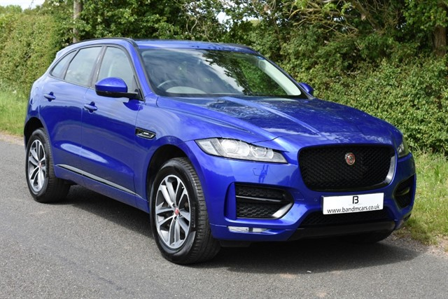 used Jaguar F-Pace R-SPORT AWD in stratford-upon-avon