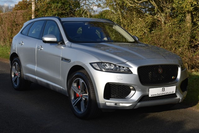 used Jaguar F-Pace V6 S AWD in stratford-upon-avon