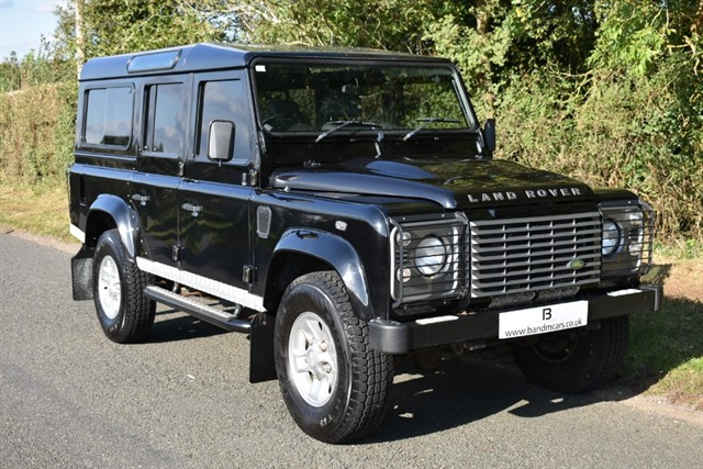 used Land Rover Defender 110 XS STATION WAGON in stratford-upon-avon