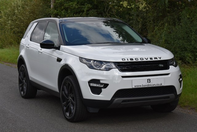 used Land Rover Discovery Sport TD4 HSE BLACK in stratford-upon-avon