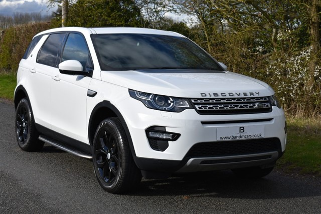 used Land Rover Discovery Sport TD4 HSE in stratford-upon-avon