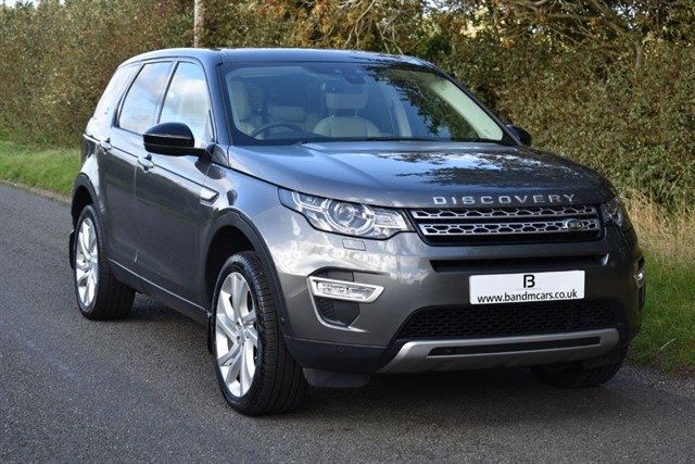 used Land Rover Discovery Sport TD4 HSE LUXURY in stratford-upon-avon