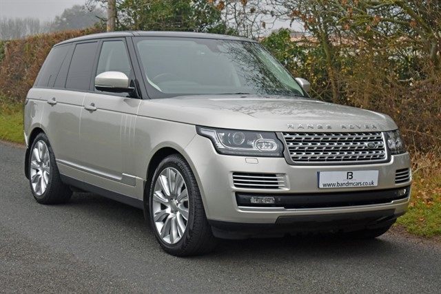used Land Rover Range Rover SDV8 AUTOBIOGRAPHY in stratford-upon-avon