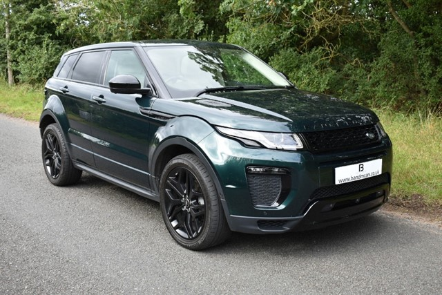 used Land Rover Range Rover Evoque TD4 HSE DYNAMIC LUX in stratford-upon-avon
