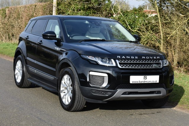used Land Rover Range Rover Evoque ED4 SE in stratford-upon-avon