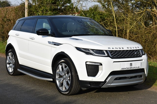 used Land Rover Range Rover Evoque TD4 AUTOBIOGRAPHY in stratford-upon-avon