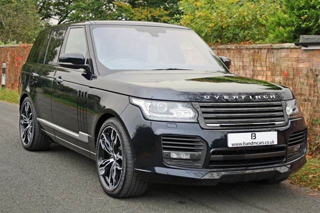 used Land Rover Range Rover V8 AUTOBIOGRAPHY in stratford-upon-avon