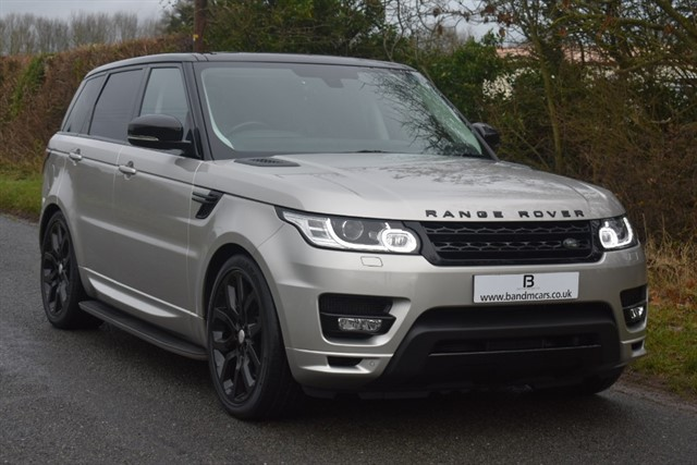 used Land Rover Range Rover Sport SDV8 AUTOBIOGRAPHY DYNAMIC in stratford-upon-avon