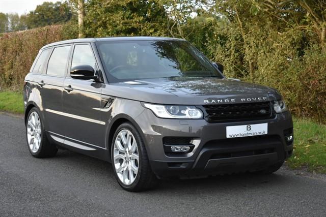 used Land Rover Range Rover Sport SDV6 HSE DYNAMIC in stratford-upon-avon