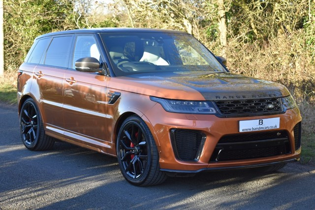 used Land Rover Range Rover Sport SVR in stratford-upon-avon