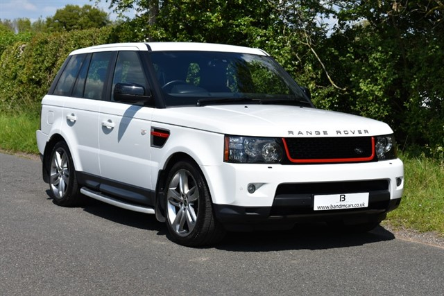 used Land Rover Range Rover Sport SDV6 HSE RED in stratford-upon-avon