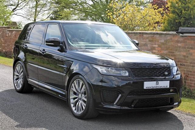 used Land Rover Range Rover Sport SVR in stratford-upon-avon
