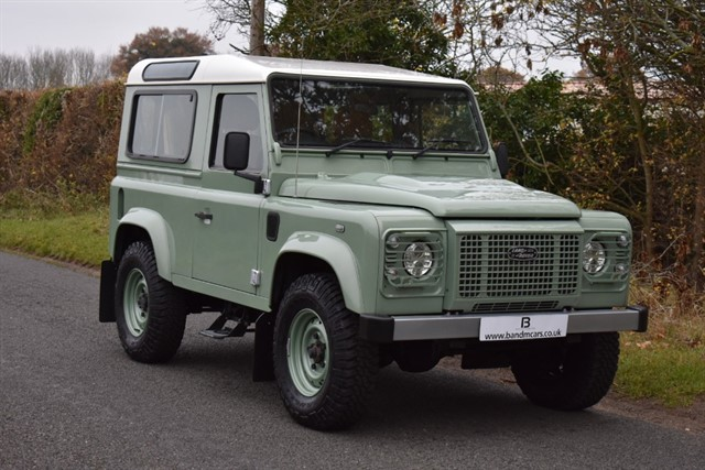 used Land Rover  TD HERITAGE STATION WAGON in stratford-upon-avon
