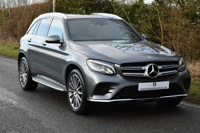 used Mercedes 220 GLC  D 4MATIC AMG LINE PREMIUM in stratford-upon-avon
