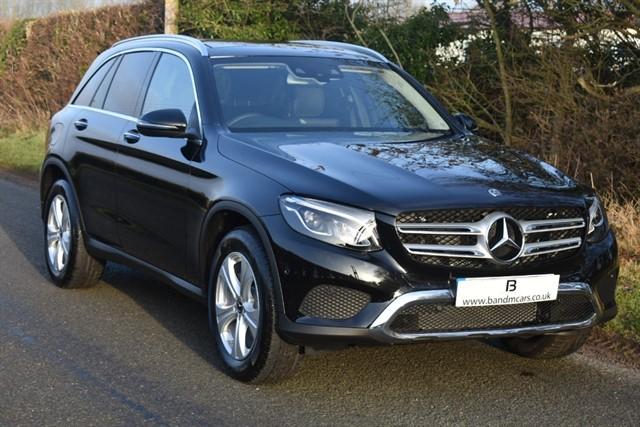 used Mercedes 250 GLC  D 4MATIC SPORT PREMIUM PLUS in stratford-upon-avon