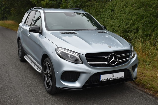 used Mercedes 250 GLE  D 4MATIC AMG NIGHT EDITION in stratford-upon-avon