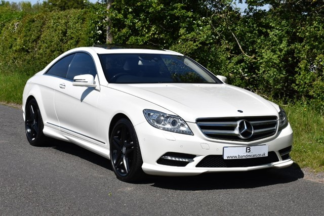 used Mercedes CL500 CL500 BLUEEFFICIENCY in stratford-upon-avon