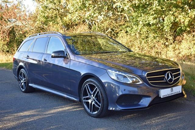 used Mercedes E220 BLUETEC AMG NIGHT EDITION PREMIUM in stratford-upon-avon