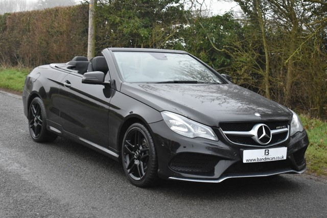 used Mercedes E220 BLUETEC AMG LINE in stratford-upon-avon