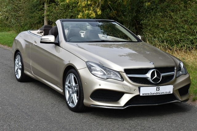 used Mercedes E250 CDI AMG LINE in stratford-upon-avon