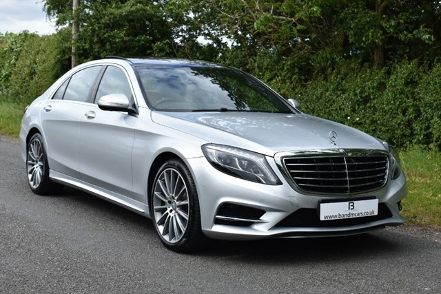 used Mercedes S350 BLUETEC L AMG LINE in stratford-upon-avon