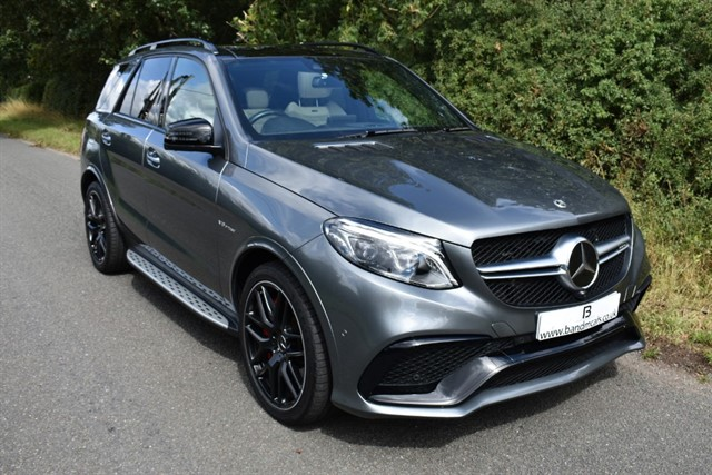 used Mercedes  AMG GLE 63 S 4MATIC NIGHT EDITION in stratford-upon-avon