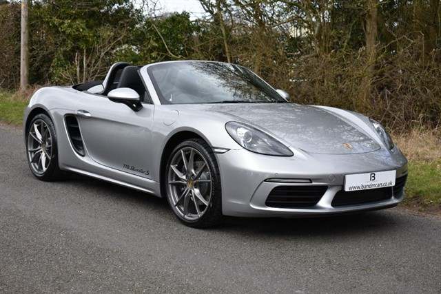 used Porsche  BOXSTER PDK in stratford-upon-avon