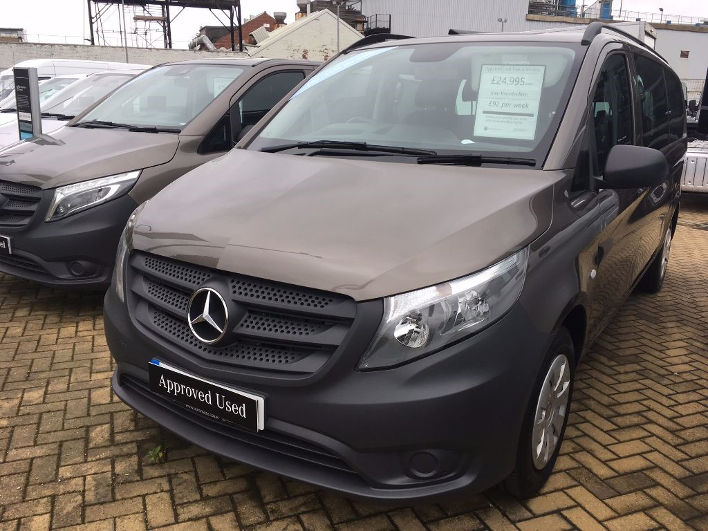 used Mercedes Vito 116 BLUETEC TOURER PRO in in-swansea