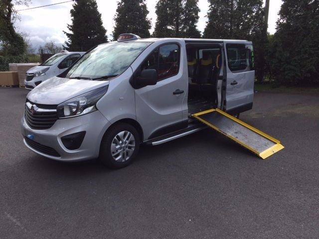 used Vauxhall Vivaro M 1 HACKNEY W/CHAIR ACCESS in in-swansea