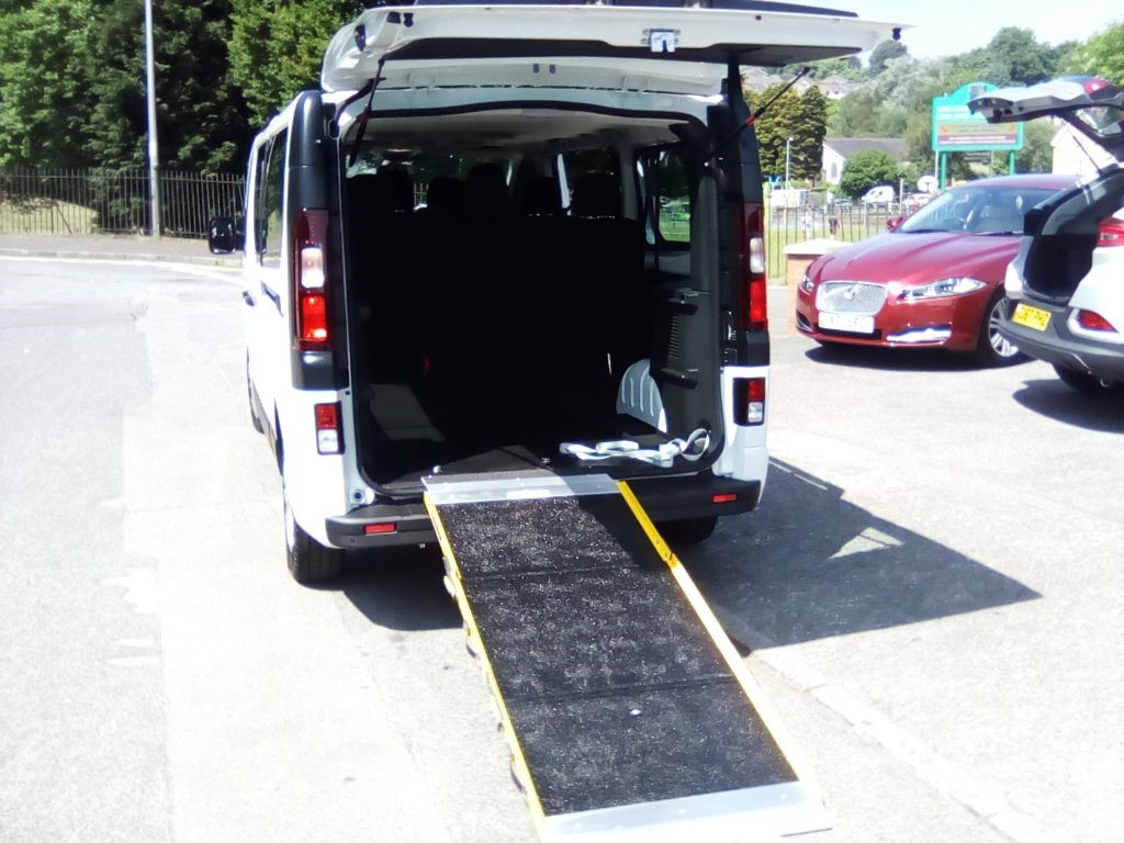 used Vauxhall Vivaro LONG WHEEL BASE WITH REAR WHEELCHAIR ACCESS in in-swansea