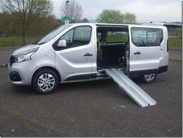 used Vauxhall Vivaro Long Wheelbase Sportive in in-swansea