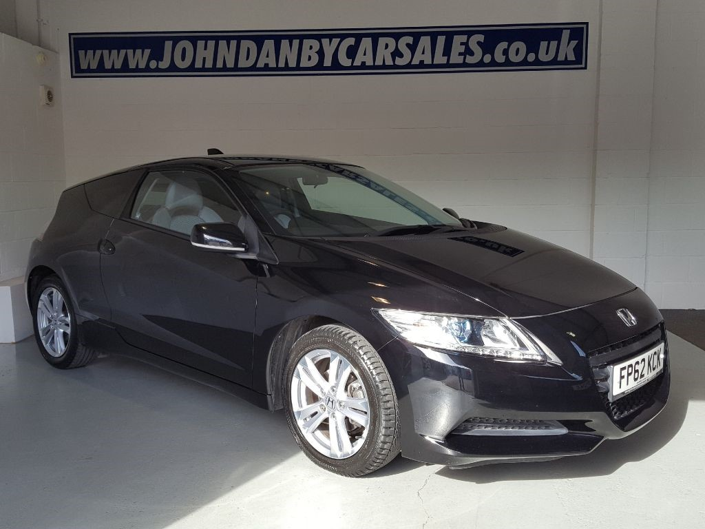 used black honda cr z for sale lincolnshire. Black Bedroom Furniture Sets. Home Design Ideas