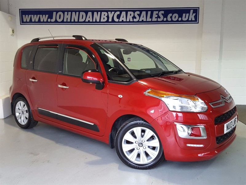 used Citroen C3 Picasso 1.6 Hdi Turbo Diesel Exclusive 5 Door in in-lincolnshire