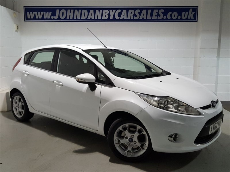 used Ford Fiesta 1.25 82ps Zetec 5 Door Bluetooth & A/c  in in-lincolnshire