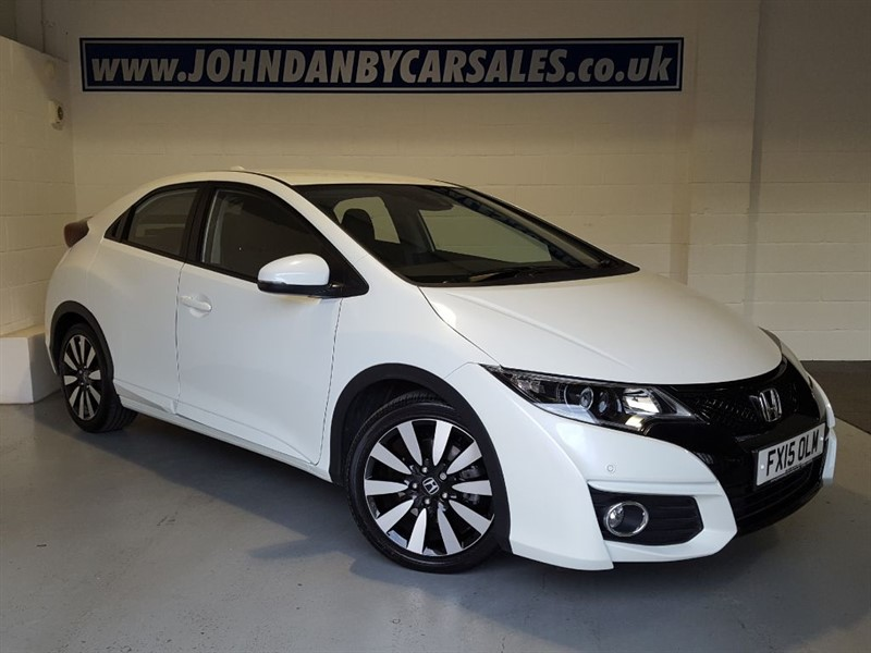 used Honda Civic 1.8 I-VTEC SE PLUS 5 Door LOW MILEAGE & 1 OWNER in in-lincolnshire