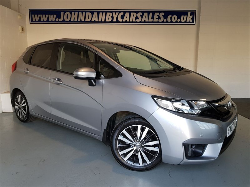 used Honda Jazz 1.3 I-VTEC EX CVT AUTOMATIC in in-lincolnshire