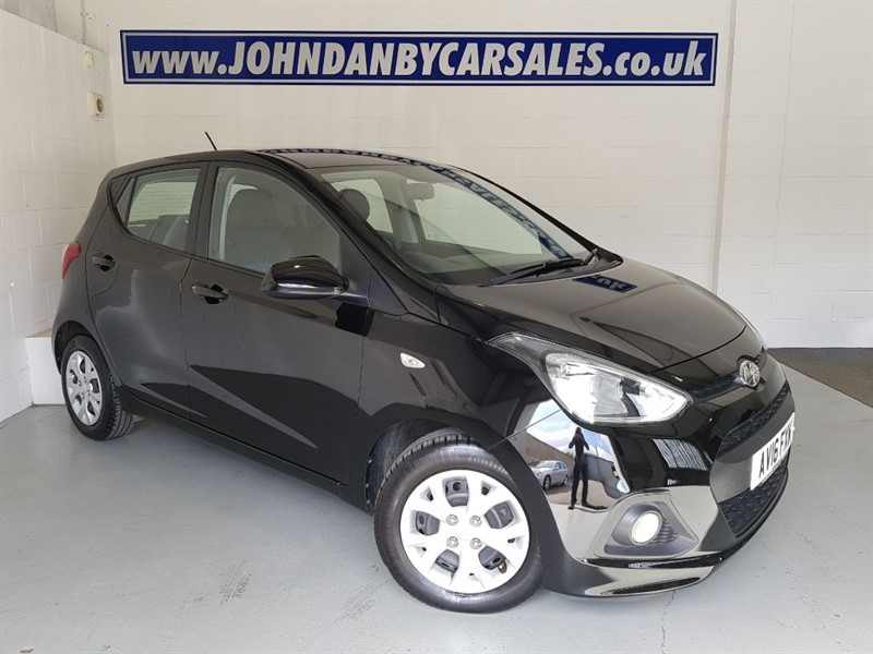 used Hyundai i10 1.0 Blue Drive SE 5 Door 1 Owner Very Low Mileage  in in-lincolnshire