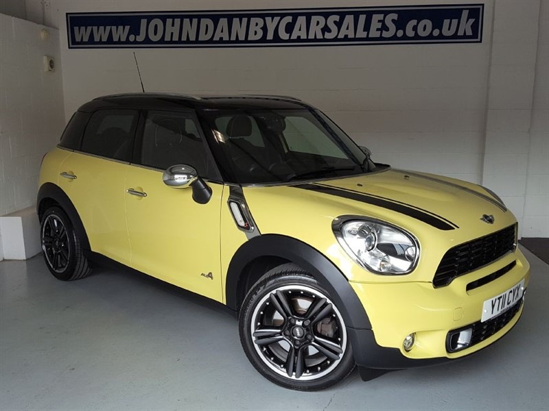 used MINI Countryman 1.6 COOPER S ALL4 Sat Nav & Full Leather in in-lincolnshire
