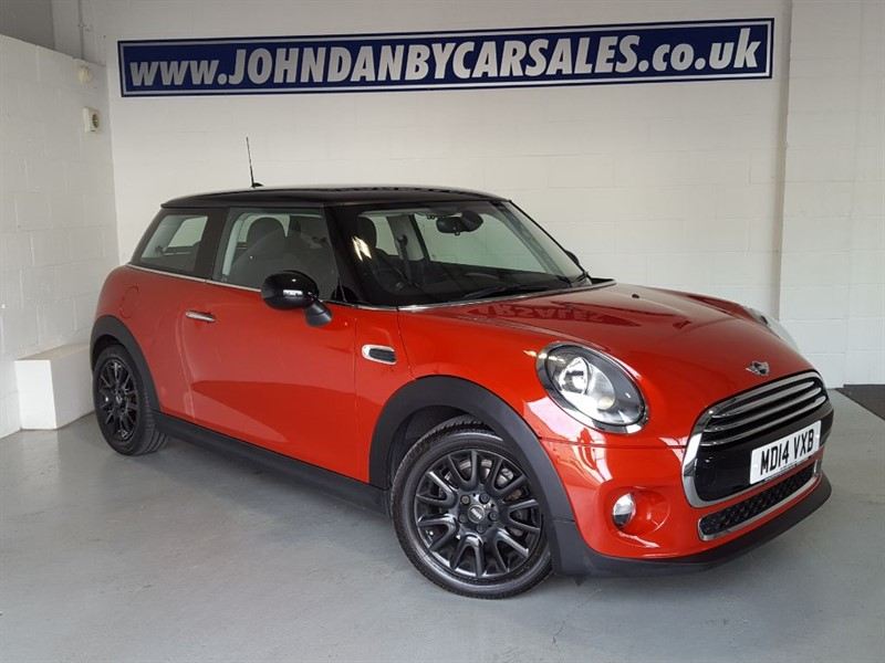 used MINI Hatch 1.5 Cooper Chili Pack & Media Pack GREAT SPEC in in-lincolnshire