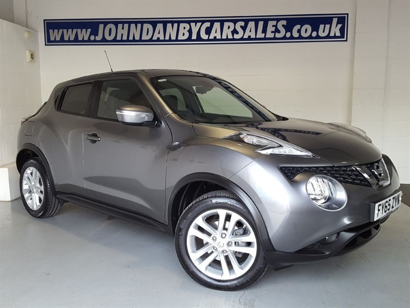used Nissan Juke 1.5 Dci N-Connecta Sat Nav & Rear Camera in in-lincolnshire